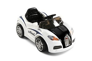 Kids Ride on Car with Remote Control White - Free Shipping