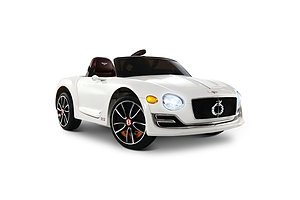 Bentley Style XP12 Electric Toy Car - White - Free Shipping