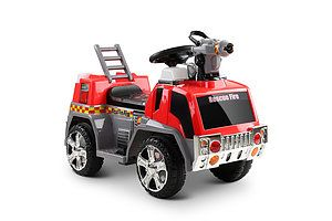 Fire Truck Electric Toy Car - Red & Grey - Free Shipping