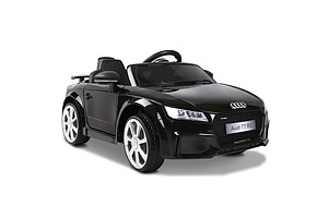 Ride on Audi TT RS Roadster Black - Free Shipping