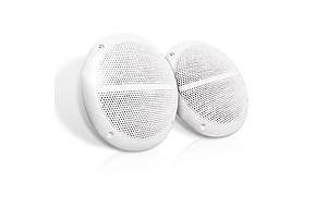 Set of 2 6.5 inch 2-Way Outdoor Boat Waterproof Marine Speaker - Brand New