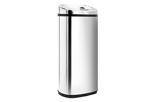 50L Stainless Steel Motion Sensor Rubbish Bin  - Free Shipping