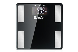 Electronic Digital Body Fat Scale Bathroom Weight Scale-Black - Brand New - Free Shipping