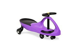 Kids Ride On Swing Car - Purple - Brand New - Free Shipping
