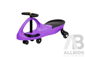 Pedal Free Swing Car 79cm - Purple - Free Shipping
