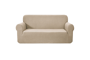 High Stretch Sofa Cover Couch Protector Slipcovers 3 Seater Sand - Brand New - Free Shipping