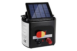 3km Solar Power Electric Fence Energiser Charger - Brand New - Free Shipping