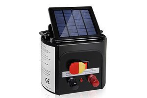 5km Solar Power Electric Fence Energiser Charger - Free Shipping
