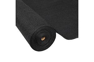 Instahut 1.83 x 10m Shade Sail Cloth - Black - Free Shipping