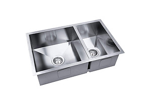 Stainless Steel Kitchen/Laundry Sink with Strainer Waste 715x450mm - Brand New - Free Shipping