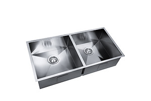 865 x 440mm Stainless Steel Sink - Brand New - Free Shipping