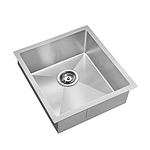 Cefito 440x450mm Stainless Steel Kitchen Laundry Sink Single Bowl Nano Silver - Brand New - Free Shipping