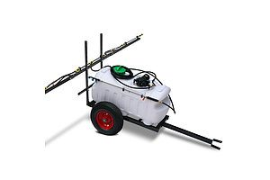 Weed Sprayer 100L Tank with Trailer - Brand New - Free Shipping