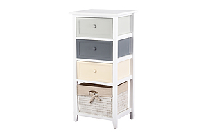 Bedroom Storage Cabinet - White - Brand New - Free Shipping