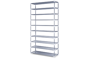 10 Tiers Stackable Shoe Storage Rack 160cm - Free Shipping