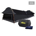 XXL Deluxe King Single Swag Camping Swag Grey - Free Shipping
