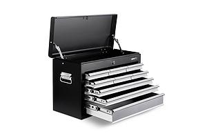 9 Drawers Tool Box Chest Black/Grey - Brand New - Free Shipping