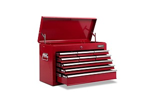 9 Drawers Tool Box Chest Red - Brand New - Free Shipping