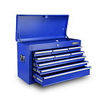 9 Drawer Mechanic Tool Box Storage Chest - Blue - Free Shipping
