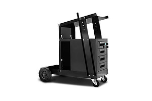Welding Trolley 4 Drawer Black - Brand New - Free Shipping