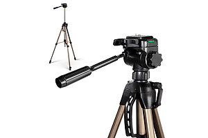 Dual Bubble Level Camera Tripod 160cm - Brand New - Free Shipping