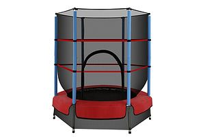 Everfit 4.5FT Trampoline Round Trampolines Kids Enclosure Outdoor Indoor Gift - Brand New - Free Shipping