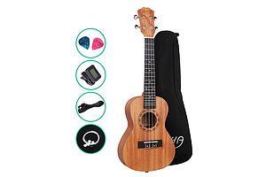 23 Inch Concert Ukulele Mahogany Ukeleles Uke Hawaii Guitar - Brand New - Free Shipping