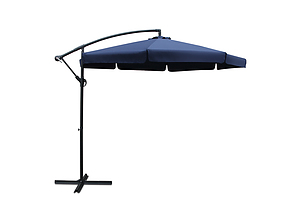 3M Outdoor Umbrella - Navy - Brand New - Free Shipping