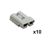10X Premium Anderson Style Plug 50AMP Exterior Connector DC Power SOLAR CARAVAN - Brand New