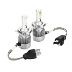 H4 180W 18000Lm Super Bright LED Headlight Kit High Low Beam Headlamp Car Truck - Brand New + 'image'