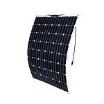 12V 200W Flexible Solar Panel Generator Caravan Camping Power Mono Charging Kit