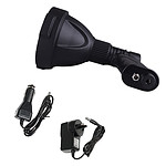 25W CREE LED Handheld Spot Light Rechargeable Spotlight Hunting Shooting 12V - Brand New