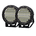 Pair 9inch 640w Cree LED Driving Light Black Spotlight Offroad HID 4x4 ATV - Brand New