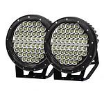 Pair 9inch 640w Cree LED Driving Light Black Spotlight Offroad HID 4x4 ATV - Brand New