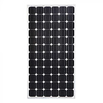12V 200W Solar Panel Kit Home Generator Caravan Camping Power Mono Charging PWM