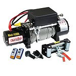 12V 14500Lbs Steel Cable Electric Winch Wireless Remote 4Wd Truck Offroad 6577Kg - Brand New