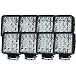 8X 80W Led Flood Work Light Bar Lamp Philips Lumileds Offroad Tractor Truck 4Wd - Brand New