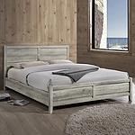 Alice Bed Queen White Ash Colour - Brand New