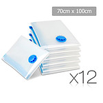 Set of 12 Vacuum Storage Bags 70 x 100cm - Brand New - Free Shipping
