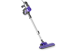 Corded Handheld Bagless Vacuum Cleaner - Purple and Silver - Free Shipping