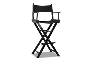 Tall Director Chair - Black - Free Shipping