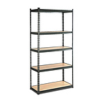 Giantz 5 Tier Shelving Unit - Chacoal - Free Shipping