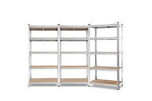 3x0.9M Warehouse Shelving Racking Storage Garage Steel Metal Shelves Rack - Brand New - Free Shipping