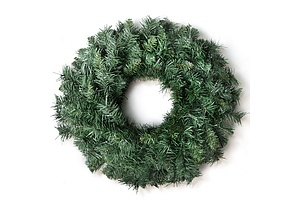 60cm Christmas Wreath - Green - Brand New - Free Shipping