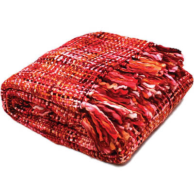 Oslo Throws 127x152 cm - Cherry Ripe - Free Shipping - RRP: $99.95
