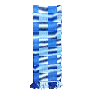 Check Throw - Blue - Free Shipping - RRP: $59.95
