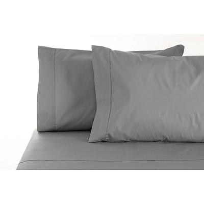 S'Allonger 1000TC Cotton Rich Sheet set Double - Charcoal - Free Shipping - RRP: $189.95