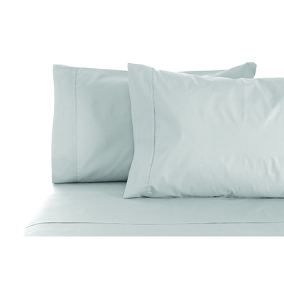 S'Allonger 1000TC Cotton Rich Sheet set Double - Silver - Free Shipping - RRP: $189.95
