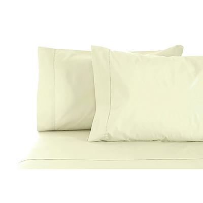Jenny Mclean La Via Sheet Set 100% Cotton Queen 400Tc - Ivory - Free Shipping - RRP: $179.95