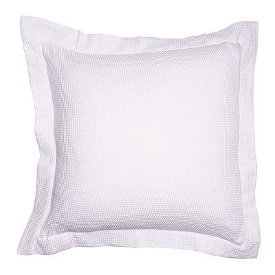 Paris waffle Cushion Cover 60x60cm - White - Free Shipping - RRP: $49.95